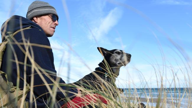 Man and Dog | The Homeless Project