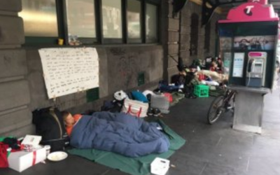 Homeless in Melbourne's CBD to be given immediate housing under $9.8m State Government plan
